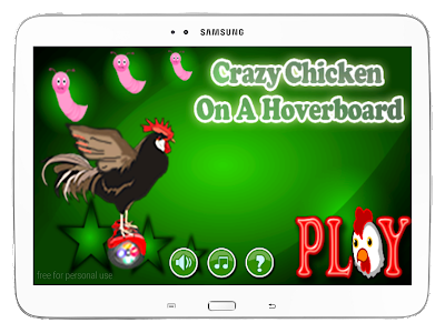 Crazy Chicken On A Hoverboard screenshot 8