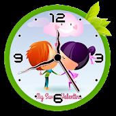 Tải Game Couple clock live wallpaper
