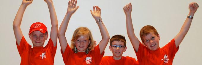 """Photo: die Jüngsten an den RSW 2013 - """"ich und die drei anderen"""" aus Rebstein"""