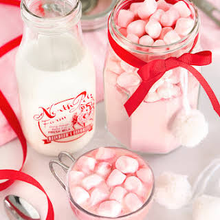 Instant Strawberry Hot Cocoa Mix.