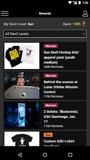 Sun Devil Rewards screenshot 2