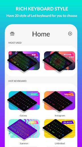 LED Keyboard Lighting - Mechanical Keyboard RGB 5.3.2 screenshots 2