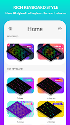LED Keyboard Lighting - Mechanical Keyboard RGB APK screenshot thumbnail 2
