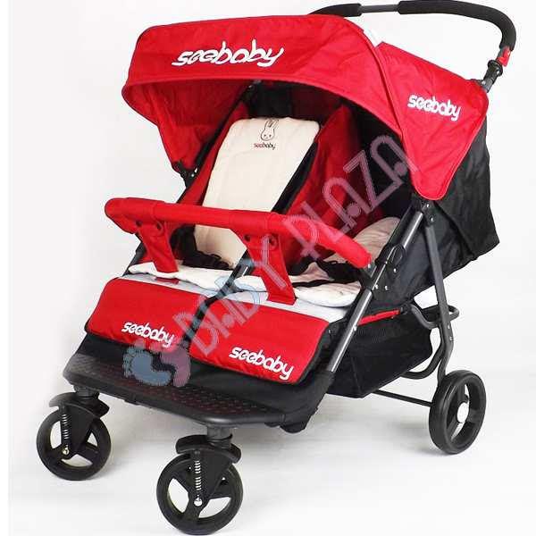 Xe đẩy đôi cho bé Seebaby T22