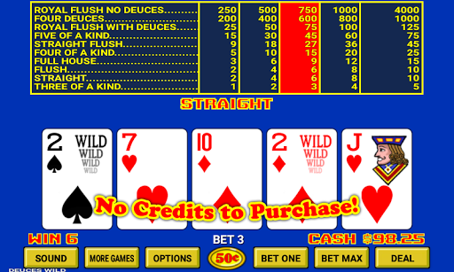 Video Poker 7.2 screenshots 2