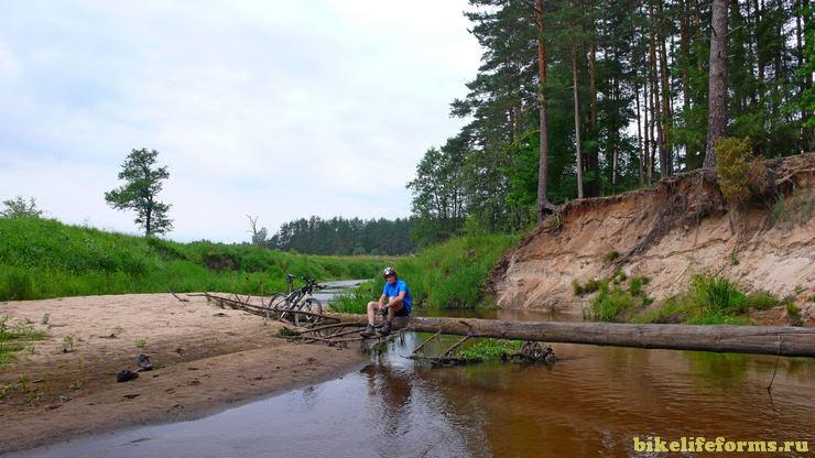 брод через реку Вязьма