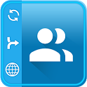 Contact manager: Backup, sync, restore & merge icon