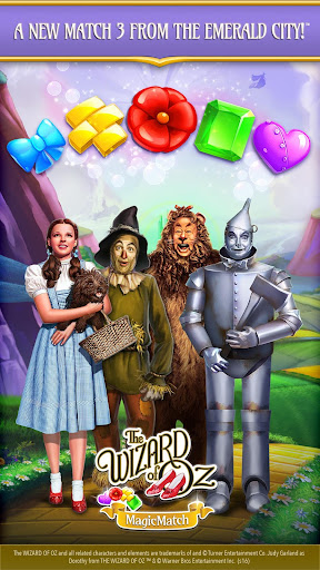The Wizard of Oz Magic Match 3  mod screenshots 1