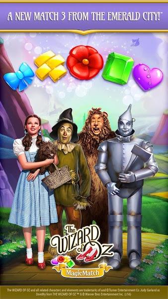 The Wizard of Oz Magic Match 3 v1.0.3353 (Mod)