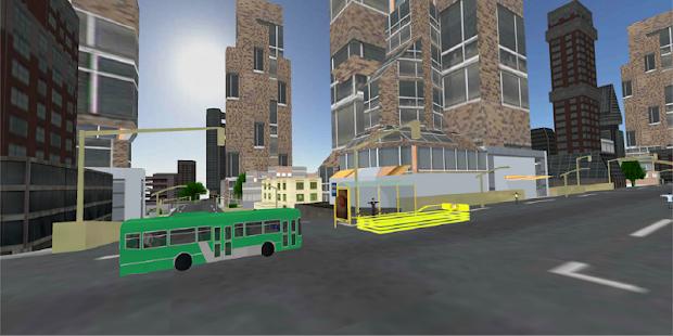 City Luxury Bus Parking Simulator 3D - náhled