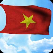 Lá cờ Việt Nam 3D