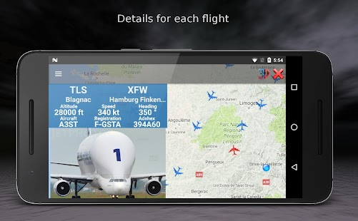 Air Traffic - flight tracker Screenshot
