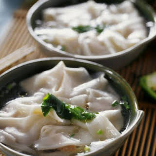 Chinese Shrimp Parcels in Soup.