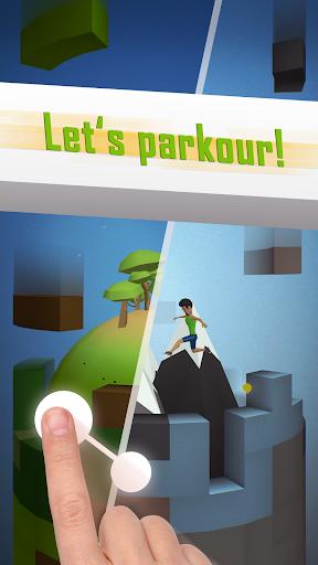 Tetrun: Parkour Mania - free running game  screenshots 4