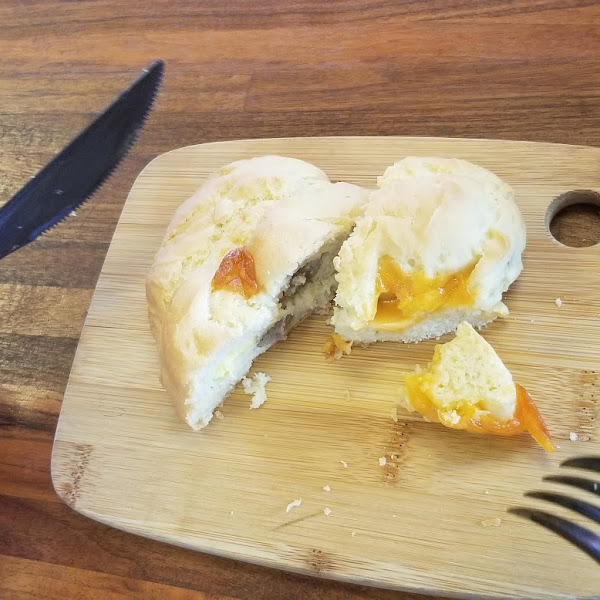 Sausage egg cheese