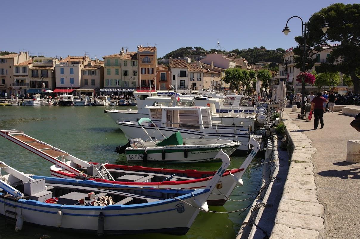 Порт Кассиса (Cassis), Прованс, Франция