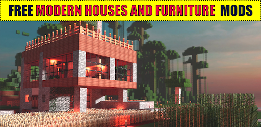 Modern Houses And Furniture For MCPE Apps Bei Google Play - Minecraft hauser mit einem klick mod