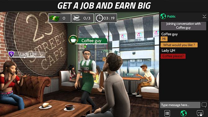 Avakin Life - 3D virtual world Android 3