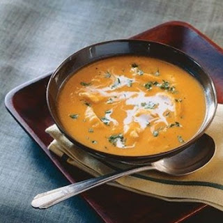 Weight Watchers Gingered Chicken and Sweet Potato Soup