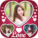Love Frame Collage icon