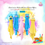 Festive offers | Up to 15% off on Rabitat Hooded Towels