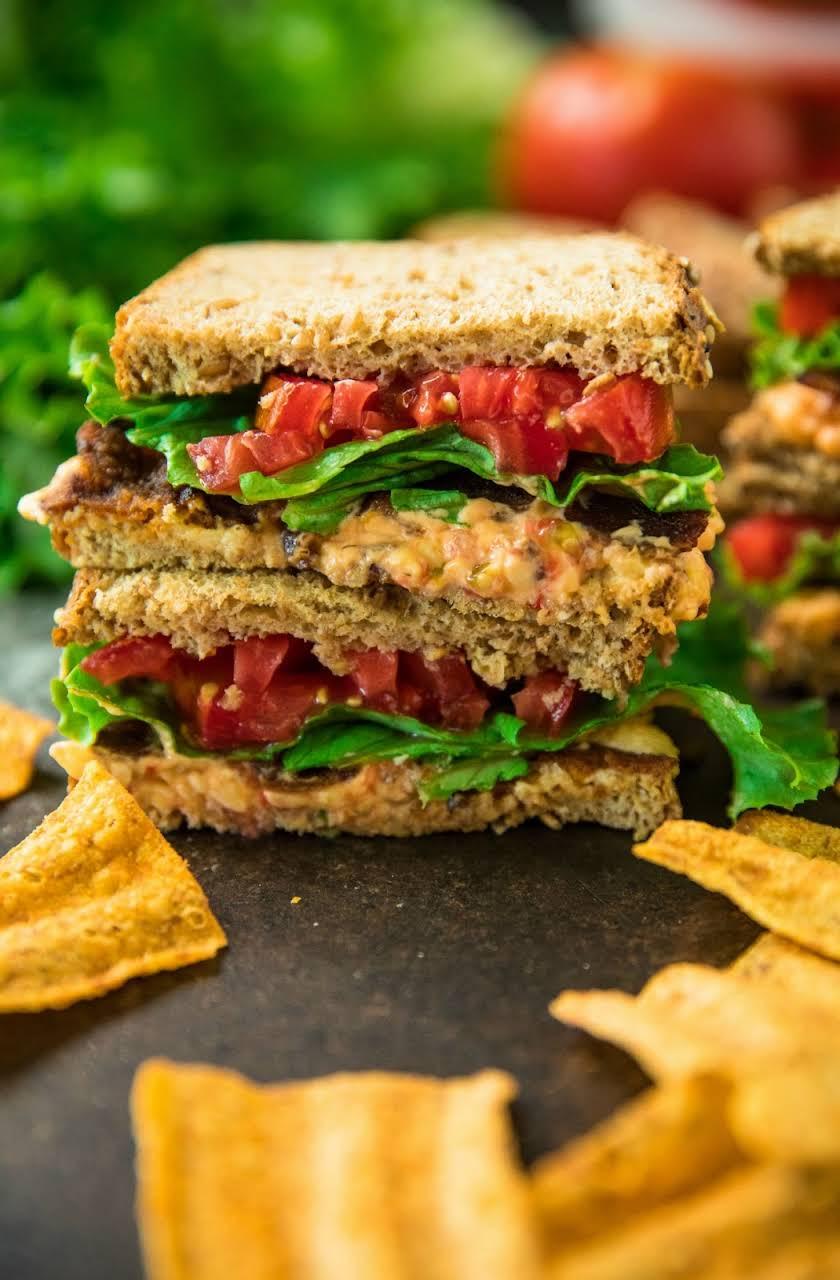 Pimiento Cheese BLT Sandwiches