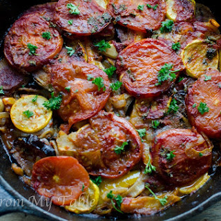 Baked Vegetable medley~Greek Style