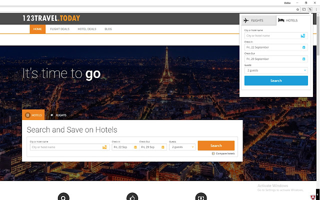 Hotels & Flight Deals Search