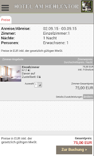 Hotel am Hehlentor- screenshot thumbnail