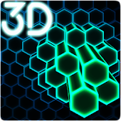 Neon Cells Particles 3D Live Wallpaper