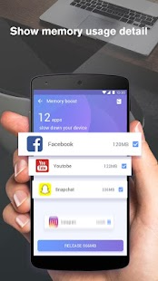 Memory Booster & Cleaner & Battery Saver - náhled