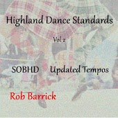 Highland Dance Standards Updated Tempos