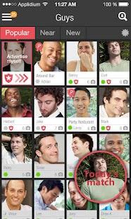 DIGSSO - GAY SOCIAL NETWORK.- screenshot thumbnail