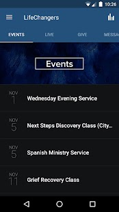 Life Changers Church App- screenshot thumbnail