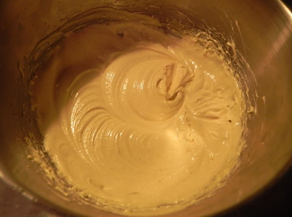 In a small bowl combinge eggnog, vanilla mousse mix and nutmeg. Beat at high...