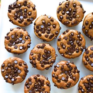 Flourless Pumpkin Chocolate Chip Muffins.