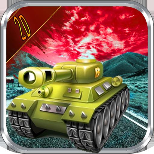 Crazy Tank :2D Racing War