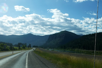 Photo: Driving by the Bitterroot Mountains