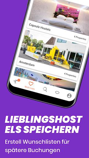 Hostelworld: Jugendherbergen und Reise-App screenshot 8