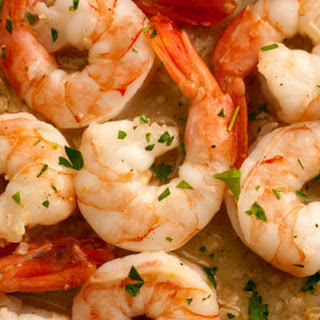 Savory Garlic Butter Shrimp Scampi.