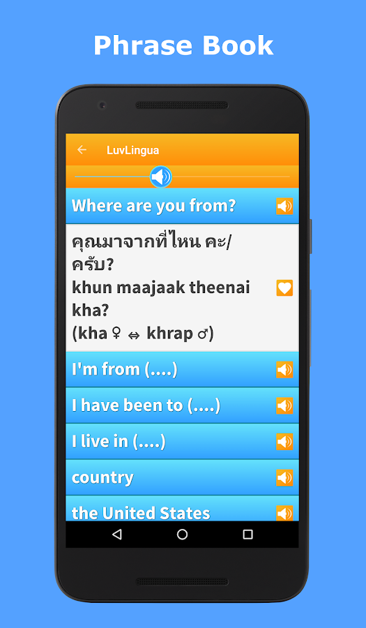 Learn Thai Language: Listen, Speak, Read- screenshot