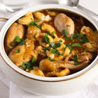 Easy Hungarian Chicken Paprikash with Dumplings Recipe
