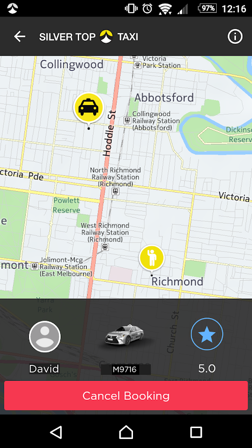 SilverTop Taxi- screenshot