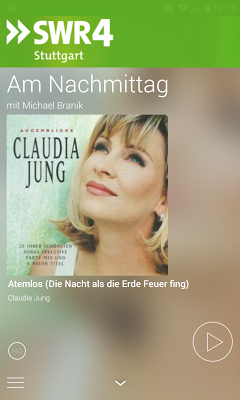 SWR4 Baden-Württemberg Radio - screenshot