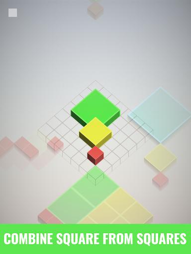 Isometric Squares - puzzle u00b2  screenshots 7