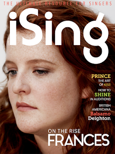 iSing Magazine- screenshot thumbnail