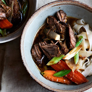 Thai Beef Stew with Lemongrass and Noodles.