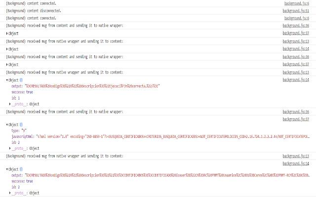 Minsait eSignature Web Extension