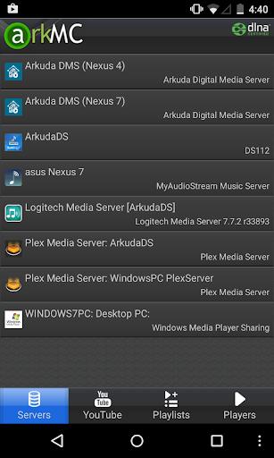【免費媒體與影片App】ArkMC UPNP Media Center-APP點子