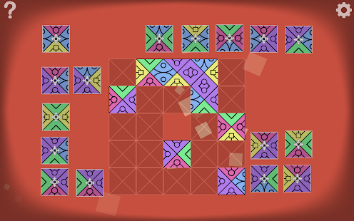 AuroraBound — игра с узорами Screenshot